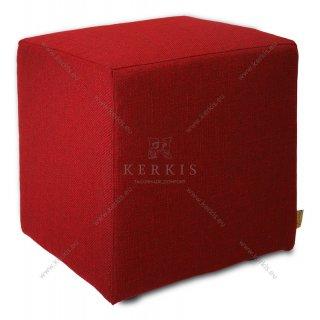 Σκαμπό κύβος Κόκκινο