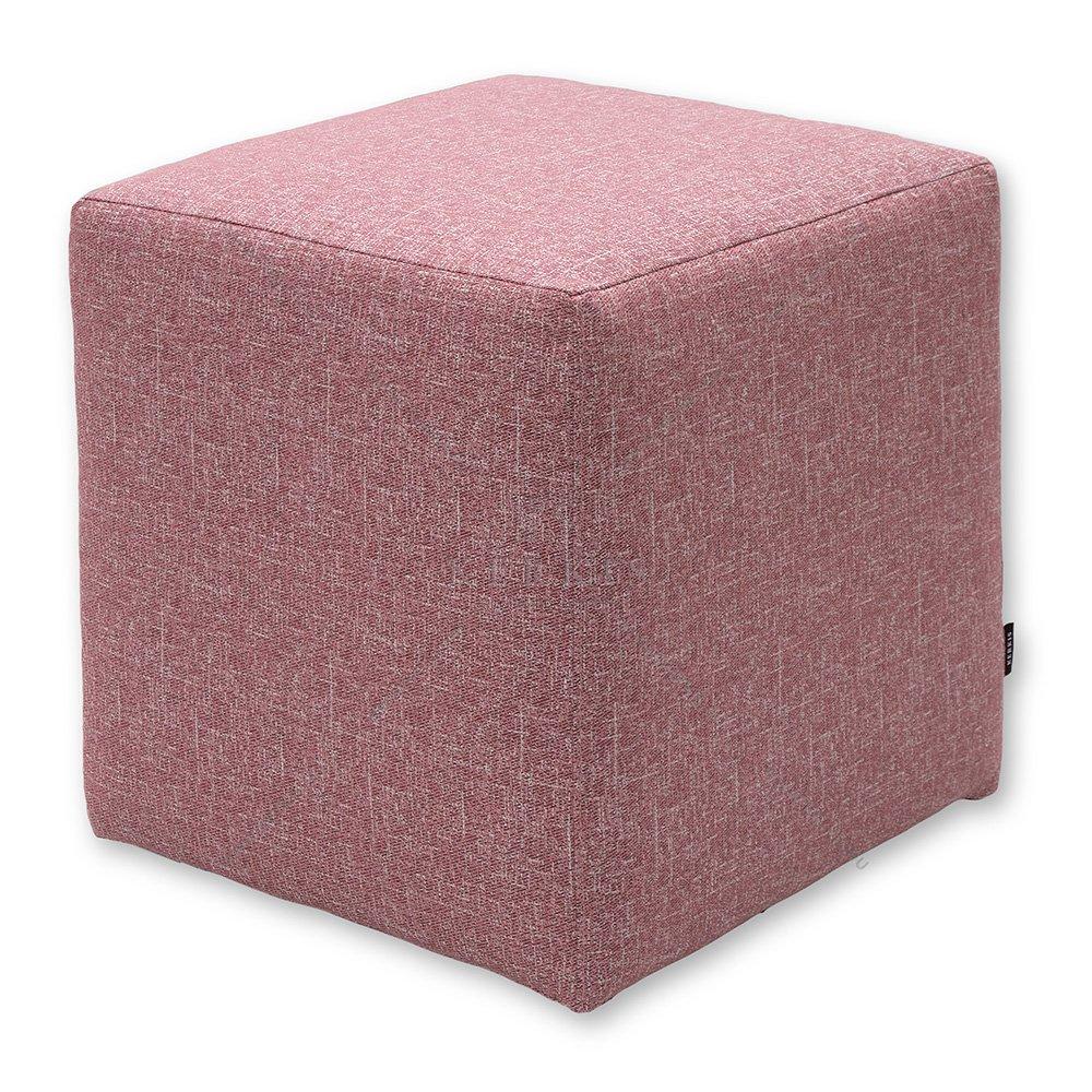 Σκαμπό κύβος Ροζ - ROM
