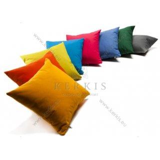 Μαξιλάρια διακοσμητικά μονόχρωμα