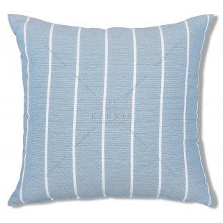 Μαξιλάρι διακοσμητικό με ρίγες Γαλάζιο