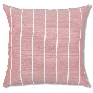 Μαξιλάρι διακοσμητικό με ρίγες Ροζ