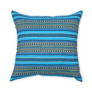 Μαξιλάρι καναπέ διακοσμητικό Έθνικ μπλε