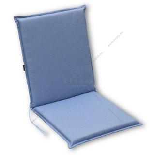 Μαξιλάρι κήπου με πλάτη σε χρώμα Μπλε ανοιχτό