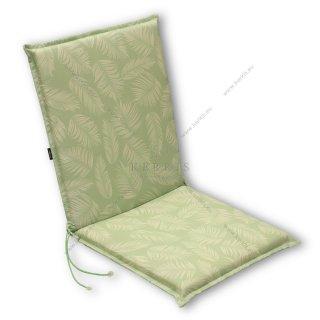 Μαξιλάρι κήπου με πλάτη σε χρώμα Πράσινο με σχέδια