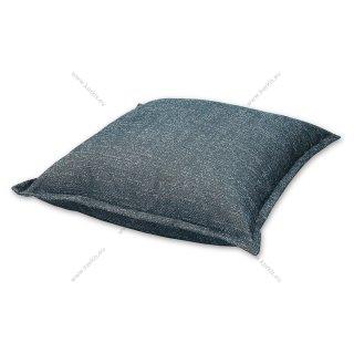 Μαξιλάρα δαπέδου φάκελος μπλε ψάθα