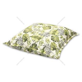 Μαξιλάρα δαπέδου πράσινη floral