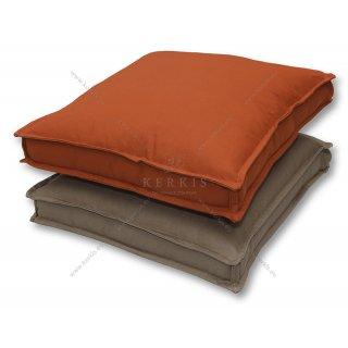 Μαξιλάρες δαπέδου με διπλή διακοσμητική ραφή (ΚΛΕΙΩ)