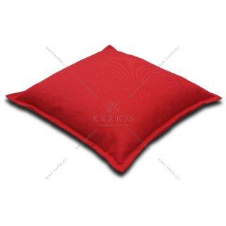 Μαξιλάρα δαπέδου φάκελος Κόκκινη