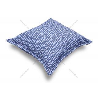 Μαξιλάρα δαπέδου φάκελος με σχέδια Μπλε