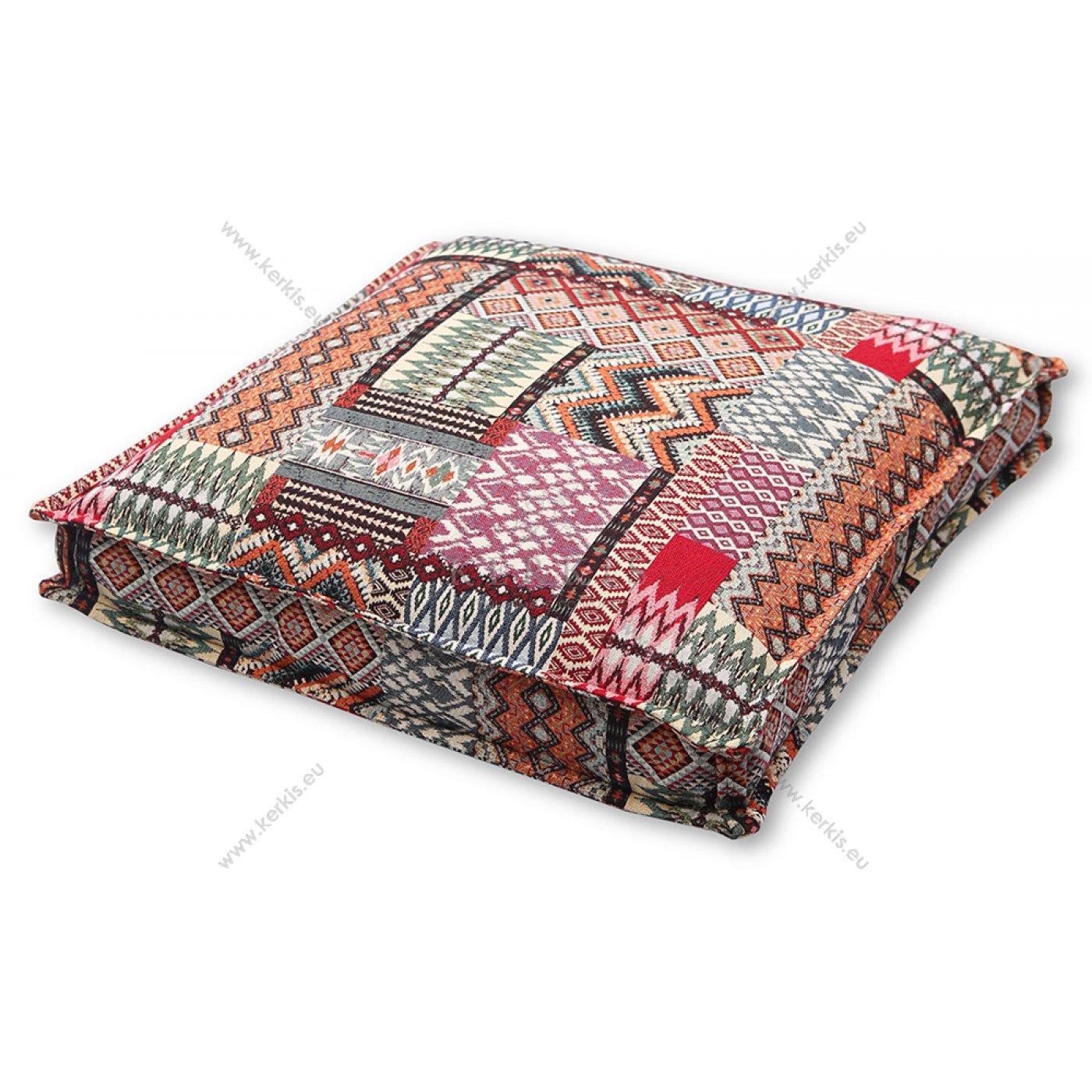 Μαξιλάρα δαπέδου patchwork
