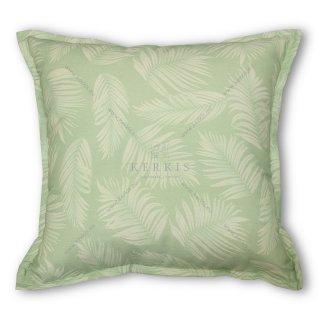 Μαξιλάρι διακοσμητικό, χρώμα πράσινο, φύλλα