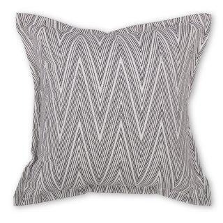 Μαξιλάρι καναπέ διακοσμητικό μαύρες γραμμές