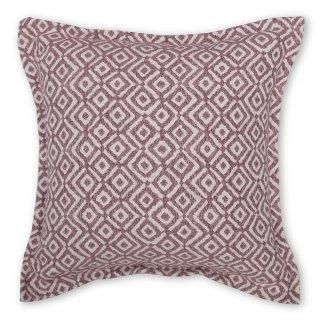 Μαξιλάρι καναπέ διακοσμητικό ροζ ρόμβος