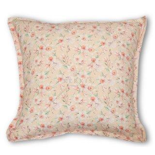 Μαξιλάρι διακοσμητικό καναπέ, χρώμα ροζ, φλοράλ