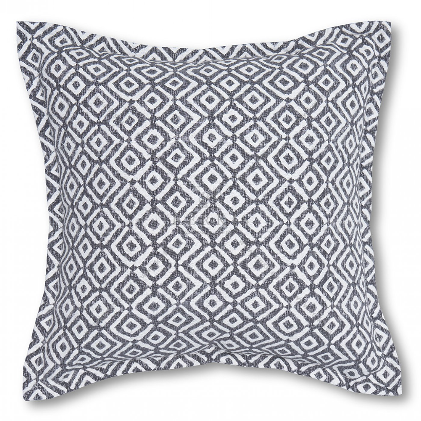 Διακοσμητικό μαξιλάρι καναπέ, χρώμα ανθρακί, ρόμβος