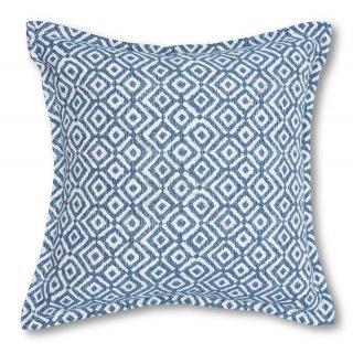 Μαξιλάρια καναπέ διακοσμητικό Μπλε ρόμβος