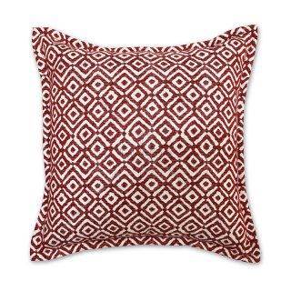 Μαξιλάρι καναπέ διακοσμητικό Κόκκινο ρόμβος