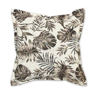 Διακοσμητικό μαξιλάρι καναπέ, χρώμα μπεζ, φλοράλ