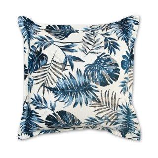 Μαξιλάρι καναπέ διακοσμητικό Μπλε floral