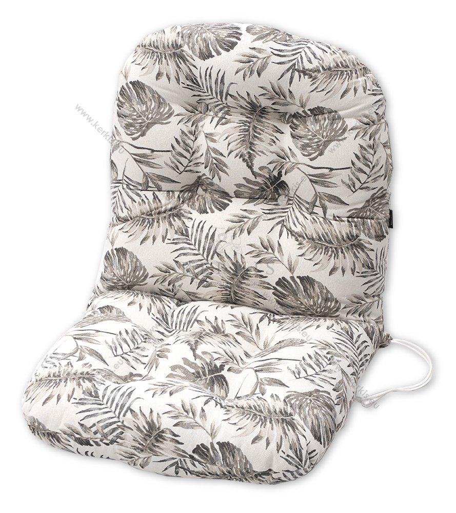 Μαξιλάρια για πολυθρόνες μπαμπού. Ύφασμα ζακάρ φλοράλ σε 4 αποχρώσεις.