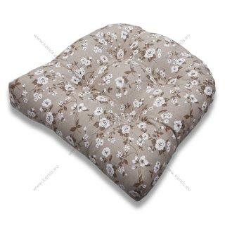 Μαξιλάρι για καρέκλες μπαμπού πέταλο