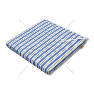 Μαξιλάρι καρέκλας Μπλε ριγέ