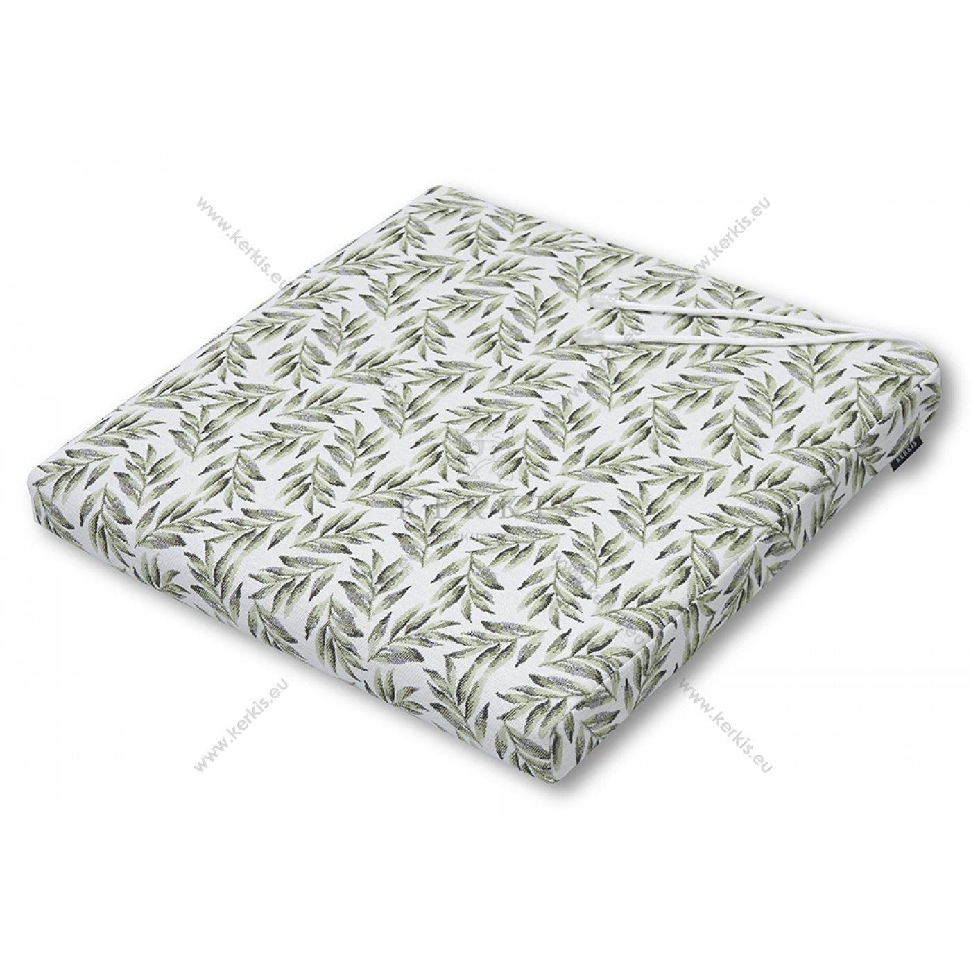 Μαξιλάρι καρέκλας με φύλλα ελιάς