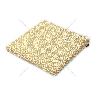 Μαξιλάρι καρέκλας κίτρινο ρόμβος