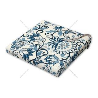 Μαξιλάρι καρέκλας μπλε φλοράλ