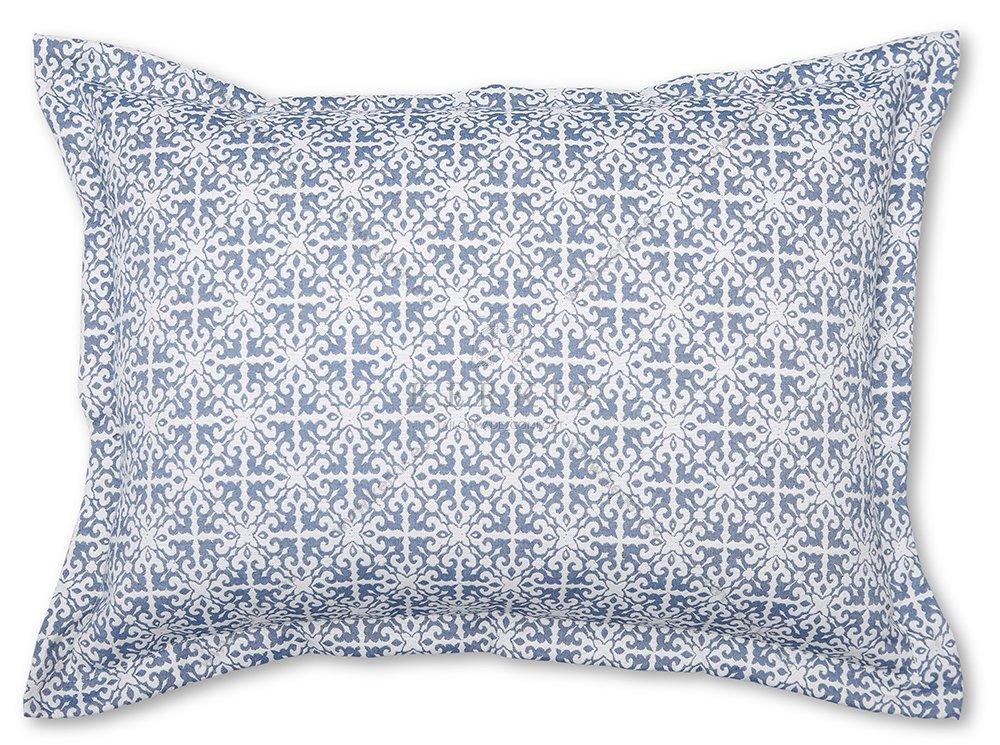 Μαξιλάρι πλάτης κρεβατιού. Κατασκευάζεται κατά παραγγελία στο χρώμα και σχέδιο που θα επιλέξετε από τη συλλογή υφασμάτων μας.