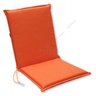 Μαξιλάρι κήπου με πλάτη σε χρώμα Πορτοκαλί