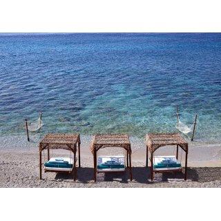 Στρώματα και μαξιλάρια για κρεβάτια παραλίας