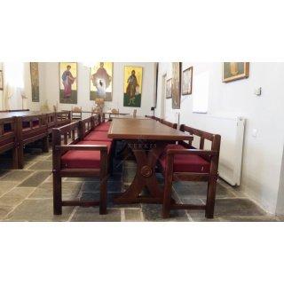 Μαξιλάρια για μοναστηριακούς πάγκους