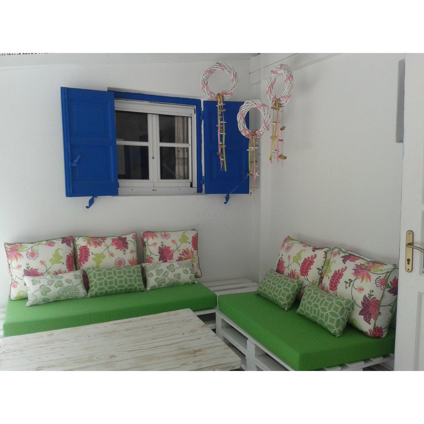 Μαξιλάρια για παλέτες εξωτερικών χώρων