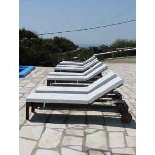 Μαξιλάρια ξαπλώστρας Δερματίνης εξωτερικού χώρου