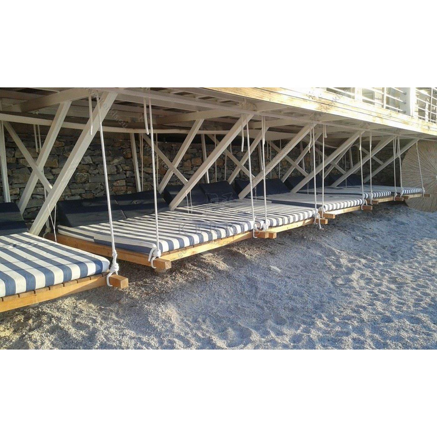 Μαξιλάρια για κρεβάτια παραλίας