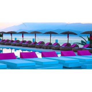 Στρώματα πισίνας με αδιάβροχα πολυεστερικά υφάσματα