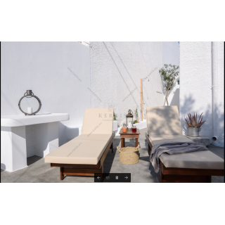 Στρώματα ξαπλώστρας με ειδική δερματίνη outdoor