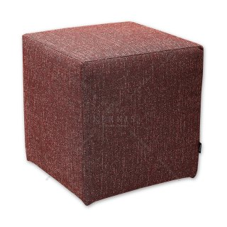 Σκαμπό κύβος κόκκινος