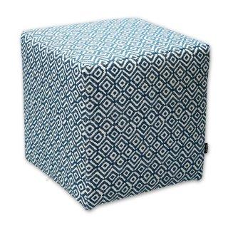 Σκαμπό κύβος μπλε ρόμβος