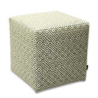 Σκαμπό κύβος πράσινος ρόμβος