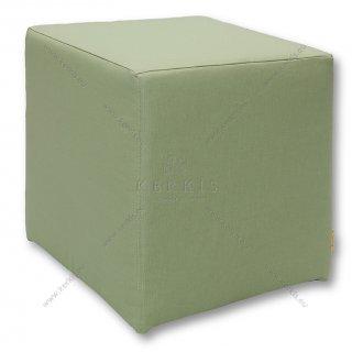 Σκαμπό κύβος πράσινο