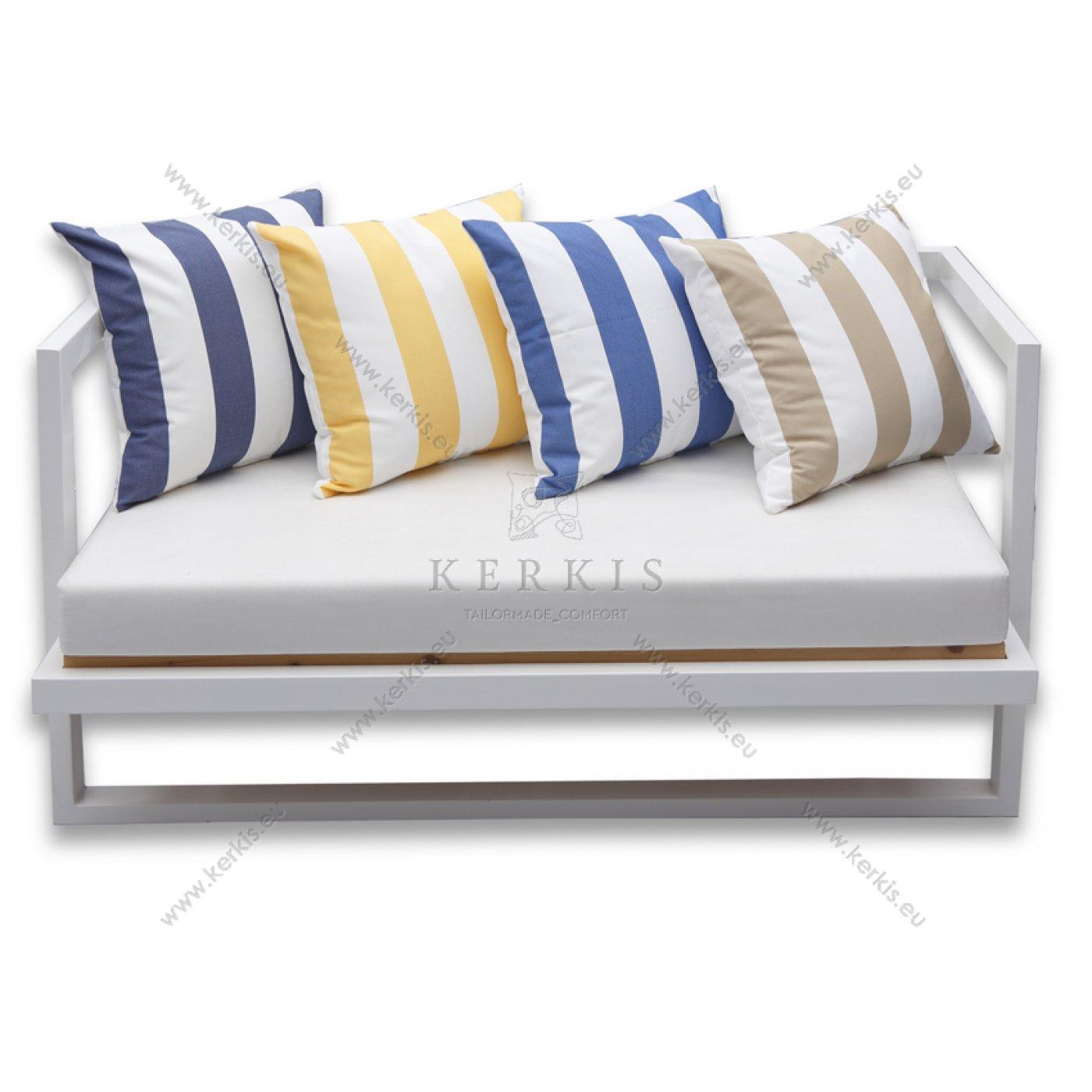 Μαξιλάρια καναπέ με ρίγες