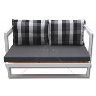 Μαξιλάρια καναπέ μα καρό πλάτες