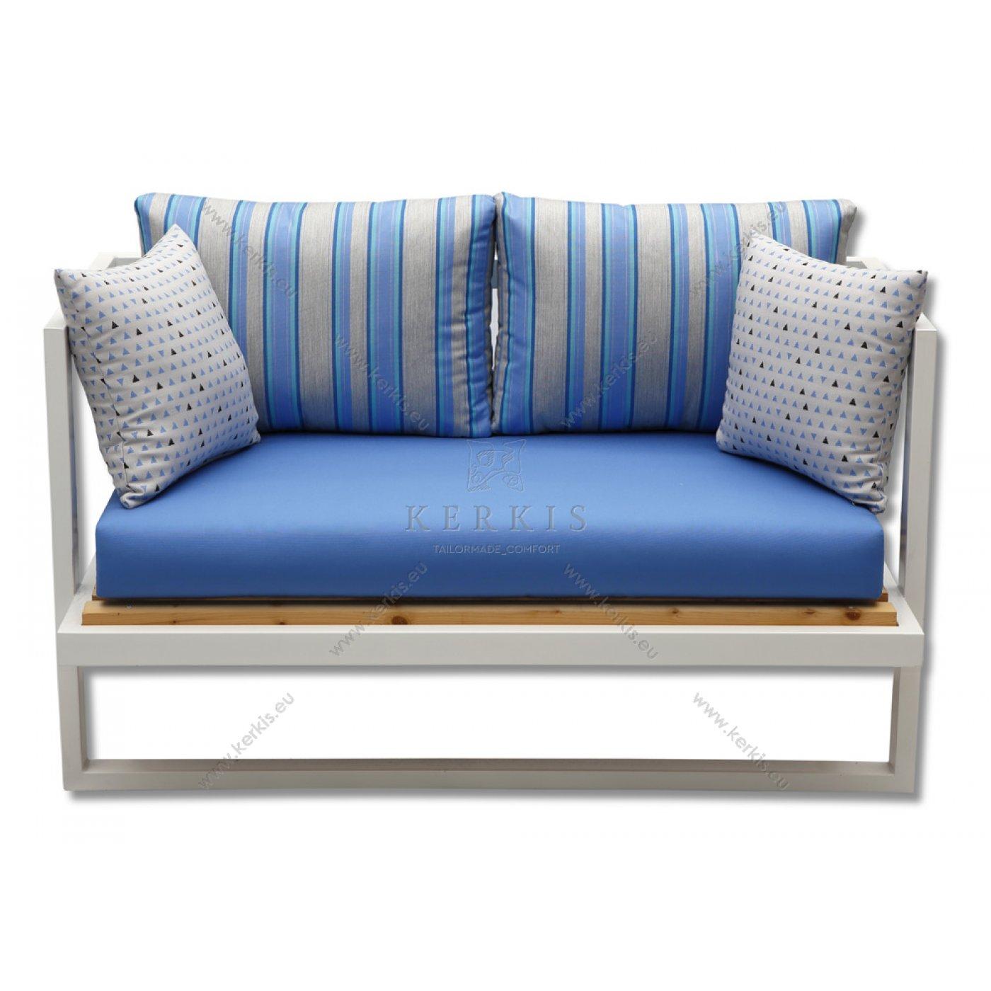 Μαξιλάρια καναπέ με υφάσματα εξωτερικών χώρων
