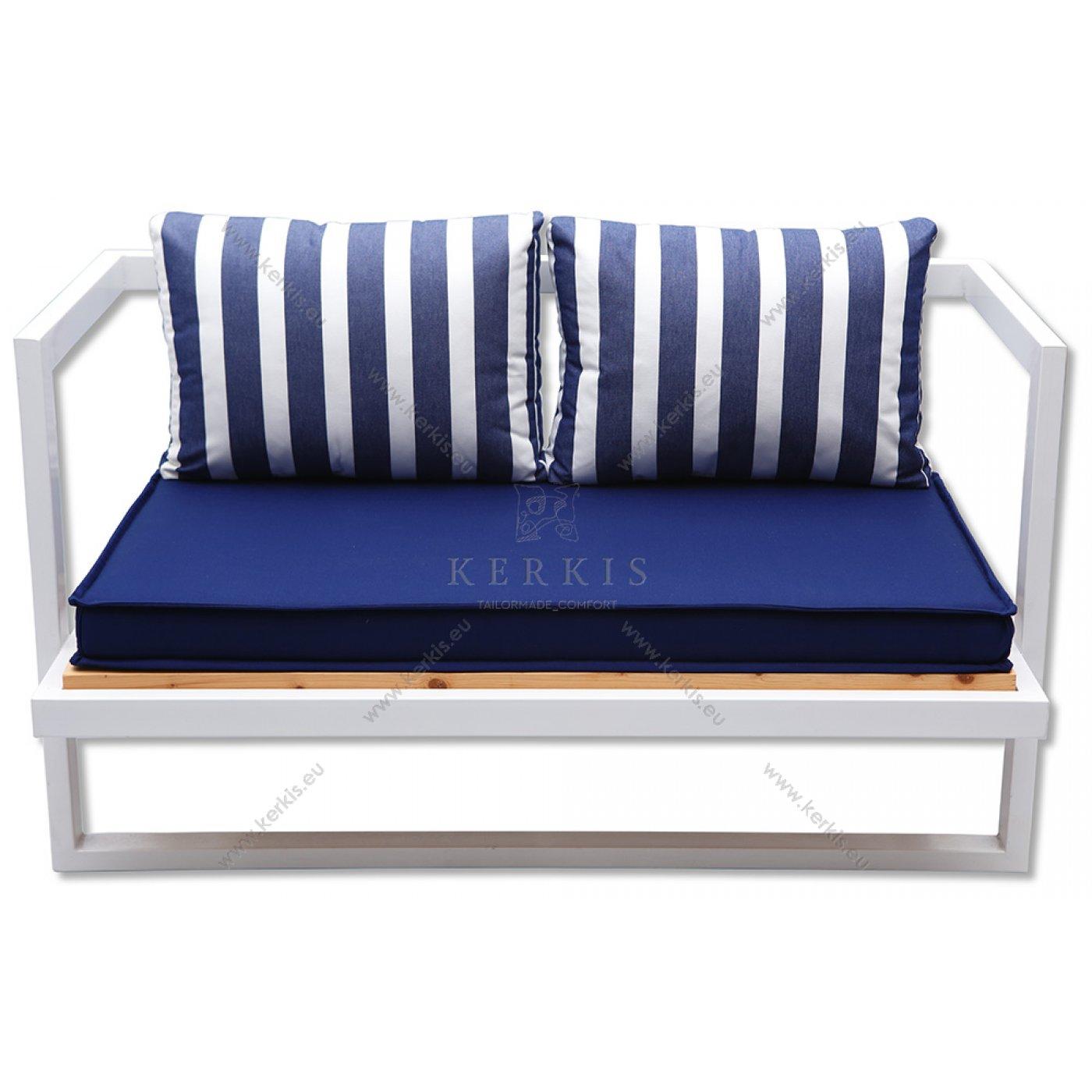 Μαξιλάρια καναπέ με διακοσμητικό περιμετρικά σουπλά