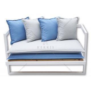 Μαξιλάρια καναπέ - πάγκου layer με υφάσματα εξωτερικού χώρου