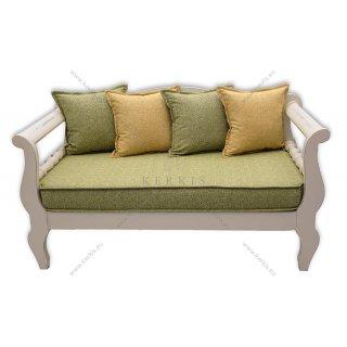 Μαξιλάρια για παραδοσιακούς καναπέδες με διακοσμητικά μαξιλάρια για πλάτες