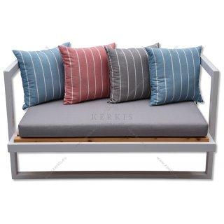 Μαξιλάρια καναπέ με πολυεστερικό ύφασμα