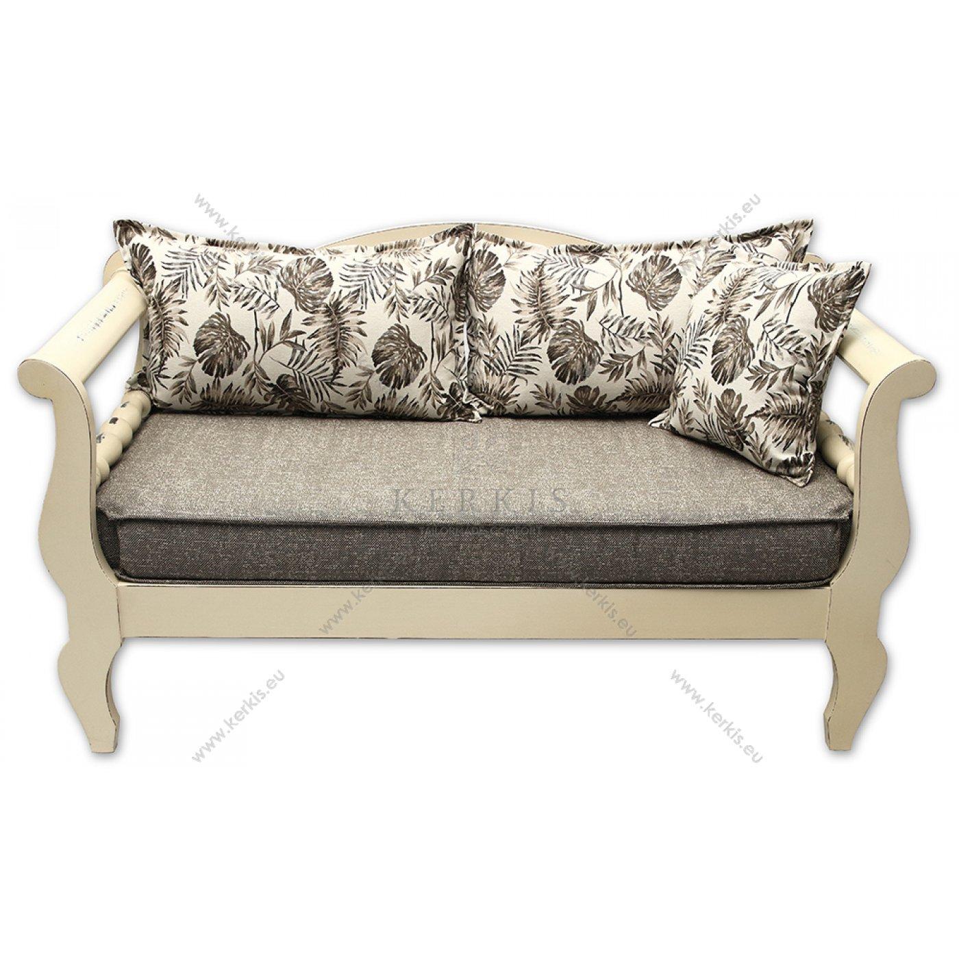 Μαξιλάρια παραδοσιακού καναπέ με πλάτες